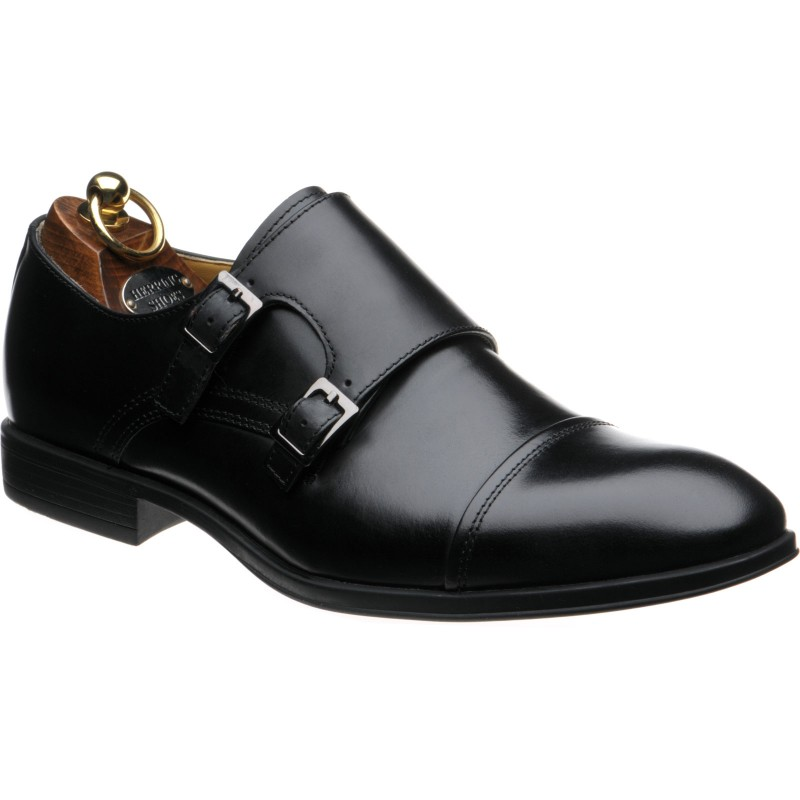 Herring Felcourt rubber-soled double monk shoes