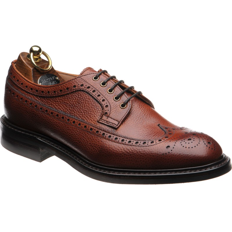 Grassmere II rubber-soled brogues