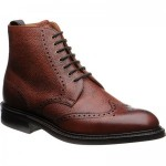 Herring Langdale II rubber-soled brogue boots