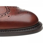 Langdale II rubber-soled brogue boots