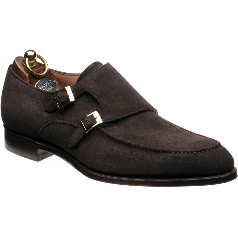 Major double monk shoes