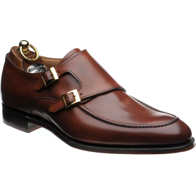 Major double monk shoes