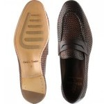 Riviera rubber-soled loafers