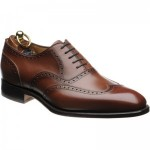 Herring Napoleon brogues in Pecan Calf
