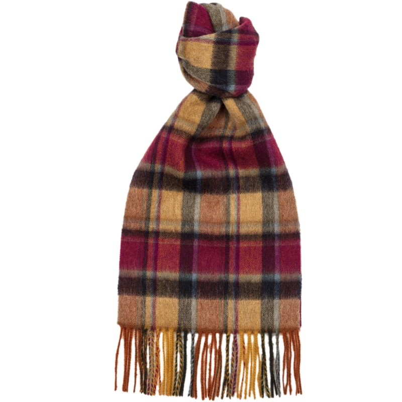 Hunting Check Scarf