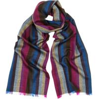Herring Merino Wool Stripe Scarf