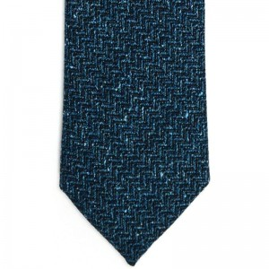 Country Weave Tie (7787 111) in Teal