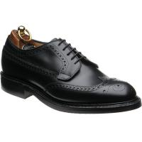herring canning ii rubber in black calf