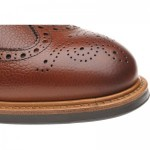 Corbridge rubber-soled brogue boots
