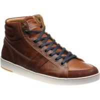 herring boxer ii in cognac calf and suede