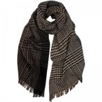 Herring Ombre Glen check Scarf