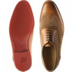 Herring Hathaway II  two-tone rubber-soled brogues