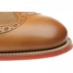 Herring Hathaway II  two-tone rubber-soled brogues