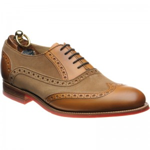 Herring Hathaway II (Rubber) in Chestnut Calf and Suede