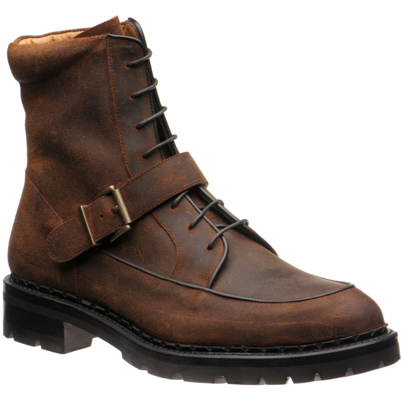 Cairngorm rubber-soled boots
