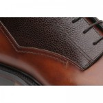 Mullion two-tone rubber-soled boots