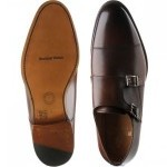 Alford double monk shoes