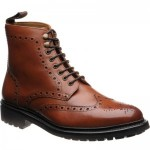 Herring Ambleside rubber-soled brogue boots