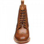 Buxton rubber-soled brogue boots