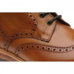 Buxton brogue boots