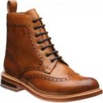 Herring Buxton brogue boots