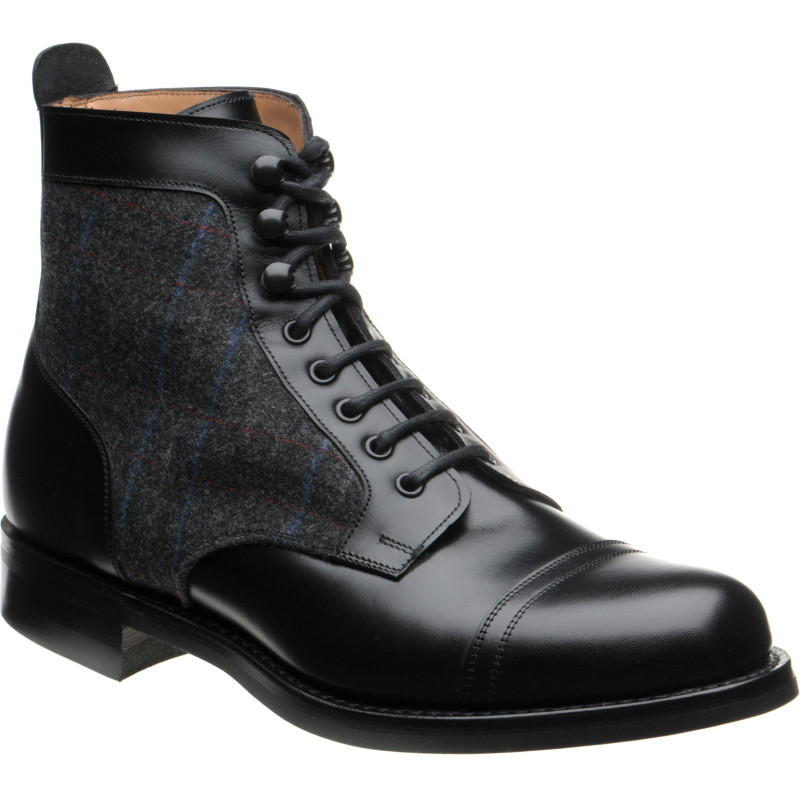 Easby rubber-soled boots