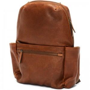 Herring Barbican Backpack in Chestnut Calf