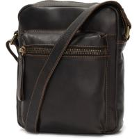 herring embankment small travel bag in brown calf
