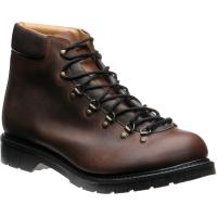 herring trekker in brown calf