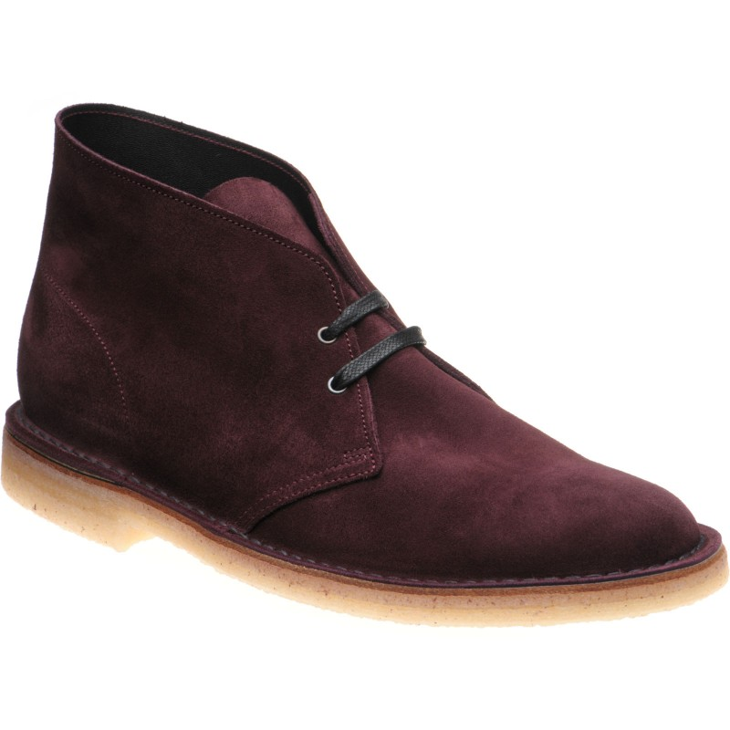 Monty in Burgundy Suede at Herring Shoes