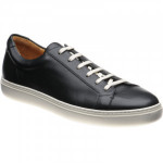 Herring Split leather rubber-soled trainers