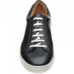 Split leather rubber-soled trainers