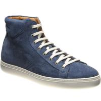 herring spare in jeans suede