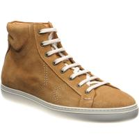herring spare in tan suede