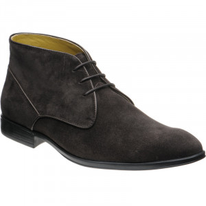 Foster in Dark Brown Suede