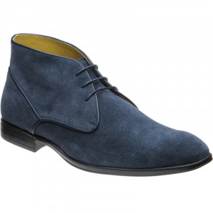Foster in Navy Suede