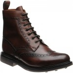 Herring Buxton  rubber-soled brogue boots