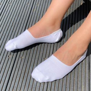 Bolt Sock in White