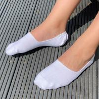 herring bolt sock in white