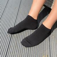 herring casper sock in black