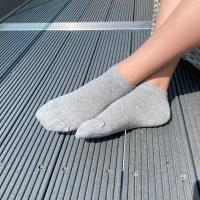 herring casper sock in grey marl