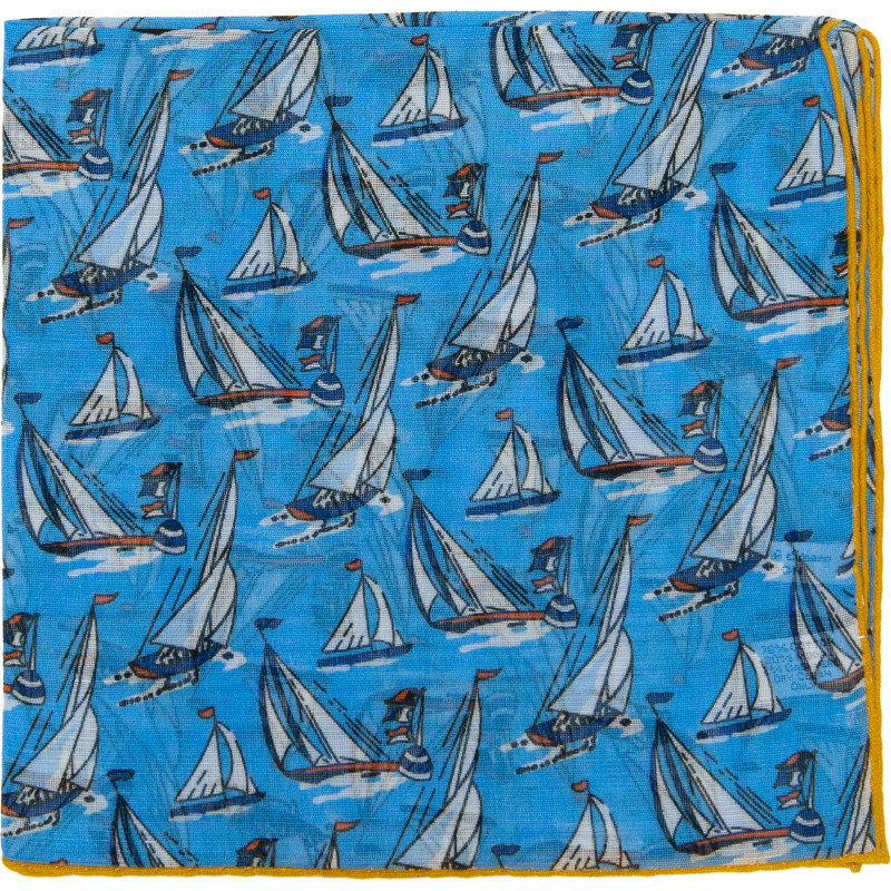 Yacht Pocket Square