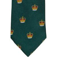 herring crown tie in green