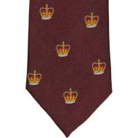 herring crown tie in wine