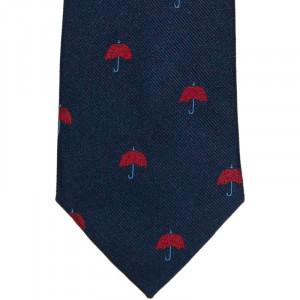 Herring Umbrella Tie in Navy