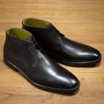 Marsden rubber-soled Chukka boots