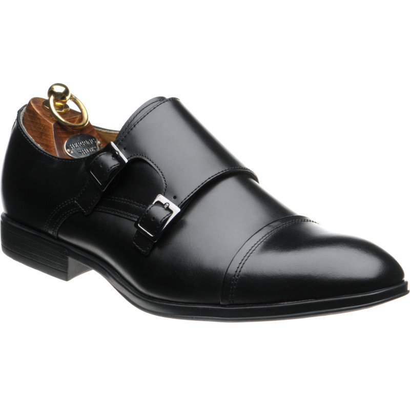 Fresno rubber-soled double monk shoes