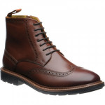 Herring Liverpool rubber-soled brogue boots