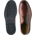 Lake rubber-soled Derby shoes