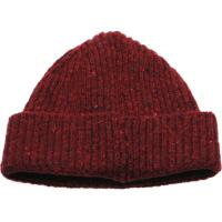 herring malin beanie hat in burgundy